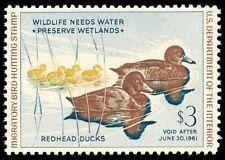 Momen: Us Stamps #Rw27 Mint Og Nh Pse Graded Cert Sup-98