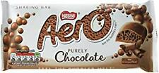 Nestle Aero milk chocolate X19 bars. long date