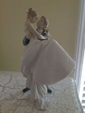 2003 The Happiest Day Porcelain Wedding Figurine BY LLADRO #8029 Made in Spain