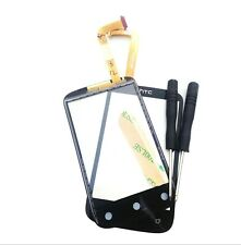 HTC Desire C A320E Digitizer Touch Screen Lens Glass Front Display Black + Tools