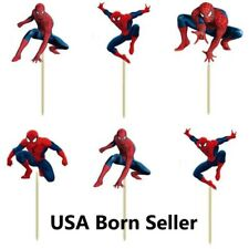 12 Pieces Cupcake Topper Cake Picks SPIDERMAN