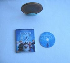 DOLLHOUSE MINIATURE DVD FROZEN 1:12 SCALE - NOT REAL DVD