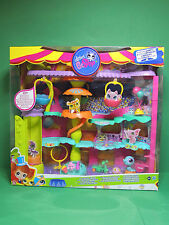 #2848 LPS Littlest Pet Shop Playset set boite Cirque Spotlight Swinging Circus