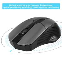 Wireless Optical Gaming Mouse 2.4GHz 1200DPI 6-Button Optical USB For PC Laptop