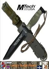 MTech First Recon Camo Hunting Knife with Tanto Blade