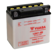 Genuine Yuasa 12N7-4B 12V Motorbike Motorcycle Battery