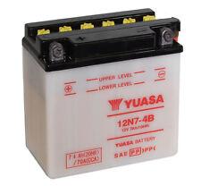 Genuine Yuasa 12N7-4B 12V Motorbike Motorcycle Battery
