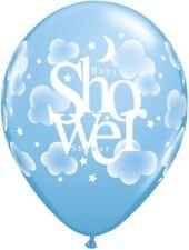 Baby Shower Luna y estrellas Perla pastel surtido Qualatex Látex 27.9cm globos X