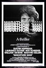MARATHON MAN * CineMasterpieces NM-M UNUSED MOVIE POSTER RUNNING RUN RUNNER 1976