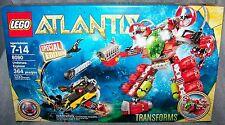 LEGO ATLANTIS 2010 ATLANTIS UNDERSEA EXPLORER SPECIAL EDITION #8080 AGES 7-14