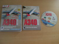 A340 500/600 Pc DVD Add-On Microsoft Flight Simulator Sim 2004 + X FS2004 FSX