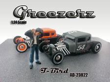 GREEZERZ T-BIRD FIGURE FOR 1:24 SCALE DIECAST MODEL CARS  AMERICAN DIORAMA 23822