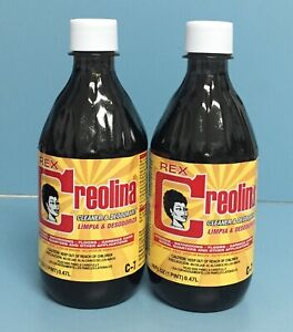 (Pack of 2) Creolina Rex Cleaner & Deodorant Plastic Bottle 16 FL OZ.