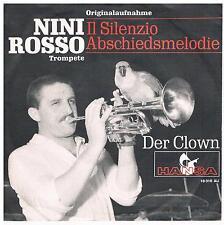 """Nini Rosso-Il Silenzio (Abschiedsmelodie)/Der Clown/7"""" Single von 1965"""