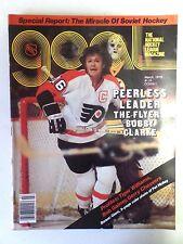 Vintage 1979 NHL Goal Hockey Magazine Bobby Clarke Flyers Cover