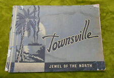 #T97.  1930/40s  SOUVENIR PICTORIAL BOOK OF TOWNSVILLE, DAMAGED