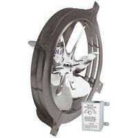 Air Vent 53319 Gable Mount Power Attic Ventilator Fan 1320 CFM up to 1900 sq ft