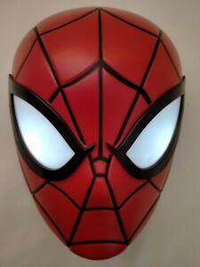Marvel 25cm Spider-Man Head 3D FX Deco Wall LED Night Light Spiderman