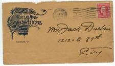 1913 Cleveland Ohio Euclid Avenue Opera House Box Office - A F Hartz Manager