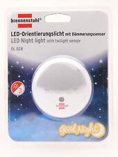 1173210 Brennenstuhl OL 02R LED-Orientierungslicht Dämmerungssensor Nachtlicht