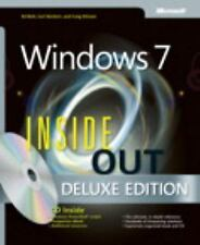 MICROSOFT WINDOWS 7 INSIDE OUT DELUXE - SIECHERT, BOTT (HARDCOVER, 2012)