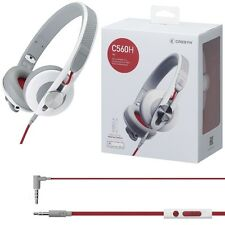 CRESYN C560H White Headset Headphones with Mic Volume Control