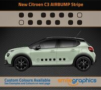 Citroen C3 Airbump Side Stripe Stickers decals - Other colours available