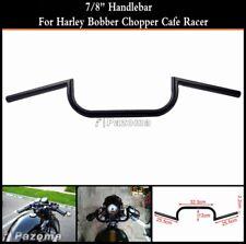 "Motorcycle 7/8"" Clubman Handlebar Bars Bar For Cafe Racer Harley Chopper Customs"