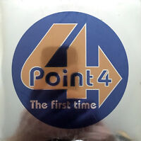 Point 4 CD Single The First Time - Promo  - Europe (M/M - Scellé / Sealed)