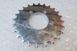 Rare TA Specialites 24t chainring vtg mtb crankset Mafac Simplex chainwheel ring