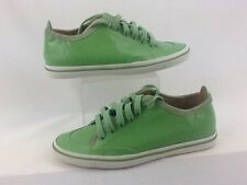 Calvin Klein Neta Green Patent Ladies Trainers Size UK 4 EUR 37 NEW