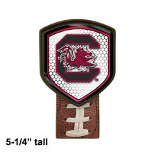 South Carolina Gamecocks themed Football beer tap handle