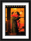 Back Where You Belong 2x Matted 24x32 Large Framed Art Print by Jack Vettriano