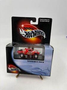 Hot Wheels 100% Black Box Red Toyota Baja Truck VHTF
