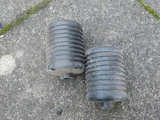 Pair of Plastic cylinder mower rollers for Qualcast, Webb, ATCO, Bosch