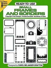 Ready-to-Use Small Frames and Borders (Dover Clip Art)