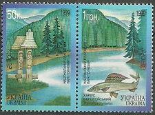 Ukraine - Europa Natur- und Nationalparks postfrisch 1999 Mi. 302-303