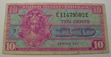 USA (Military Payment Certificate) 10 Cents ND(1954) - Series 521 - Pick M30