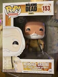 "Funko Pop! Television - The Walking Dead -Herschel Green""  #153 Vaulted/Retired"