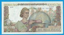 Gertbrolen 10 000 FRANCS ( Génie Français )  du 5-7-1951  E.1675