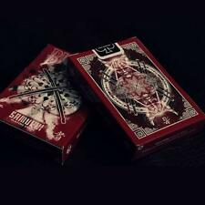 Samurai Playing Cards 3rd Limited Edition Red V3 Deck