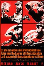 "18x24""Decoration CANVAS.Room political design art.Fidel Castro speaking.6513"