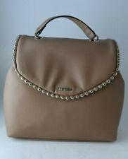 Nine West Aveline Brown Chain Strap Crossbody Backpack Handbag