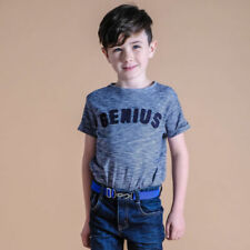 Cintura blu per bambine dai 2 ai 16 anni