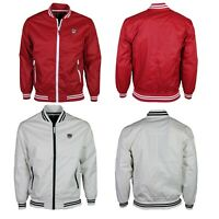 Mens Soul Star Polyester Long Sleeve Lightweight Casual Bomber Jackets S-2XL