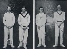 Rackets Squash Army Championship Prince's Club 1936 Page Photo Article 8646