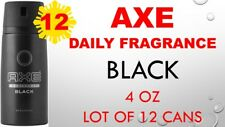 12 x Axe Deodorant Body Spray 150ml 5.07 oz / Each (Pack of 12) BLACK