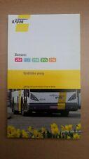 °°° De Lijn - busboekje 212 - 213 - 214 - 215 - 216 (2009)