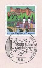 BRD 1996: Heidelberg 800 Jahre! Nr. 1868 mit Bonner Ersttagssonderstempel! 1A!
