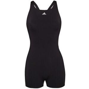 adidas Performance Damen Schwimmsport Badeanzug Einteiler DQ3286 schwarz neu